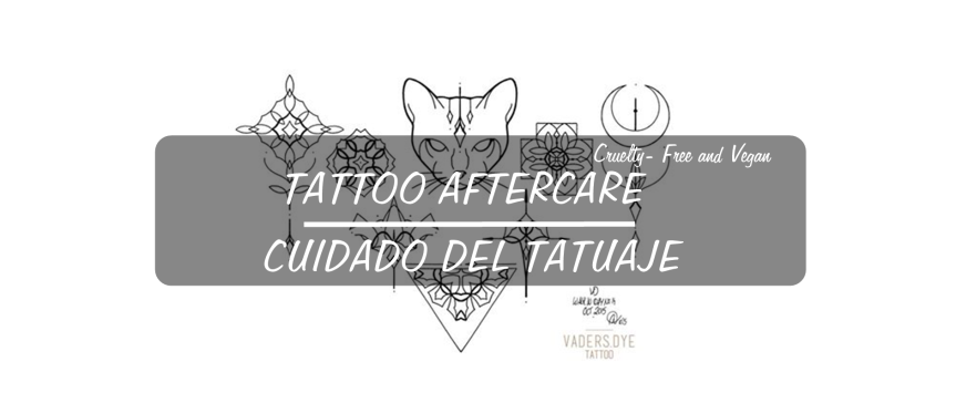 Tattoo AfterCare – Cuidado del Tatuaje |Asami