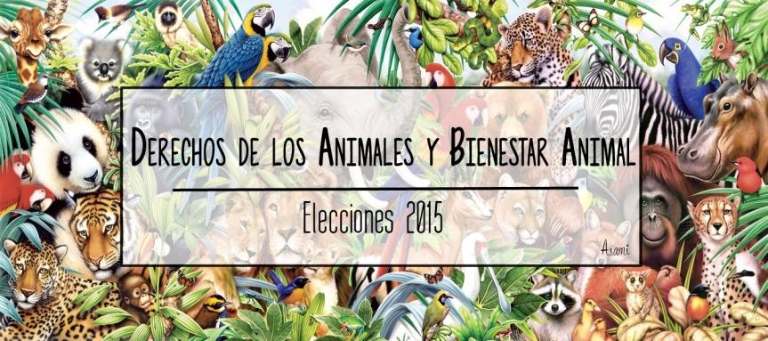 Programas sobre el Derecho de los Animales – Elecciones 2015 |Asami