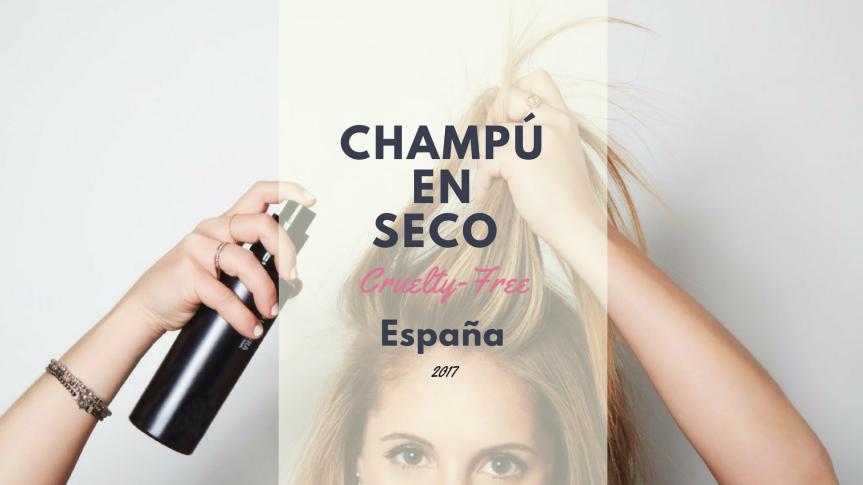 Champú en seco Cruelty-Free en España |Asami